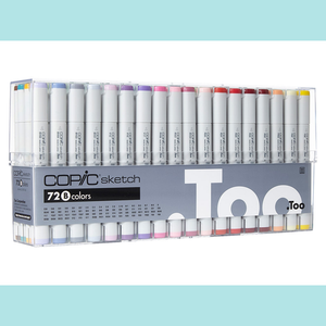 Copic Sketch Set 72B
