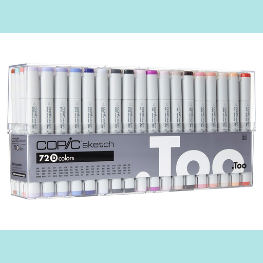 Copic Sketch Set 72D