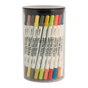 Tim Holtz Distress Markers - 60 Colors, Full Palette in Tube