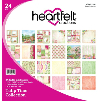 Heartfelt Creations Tulip Time Paper Collection