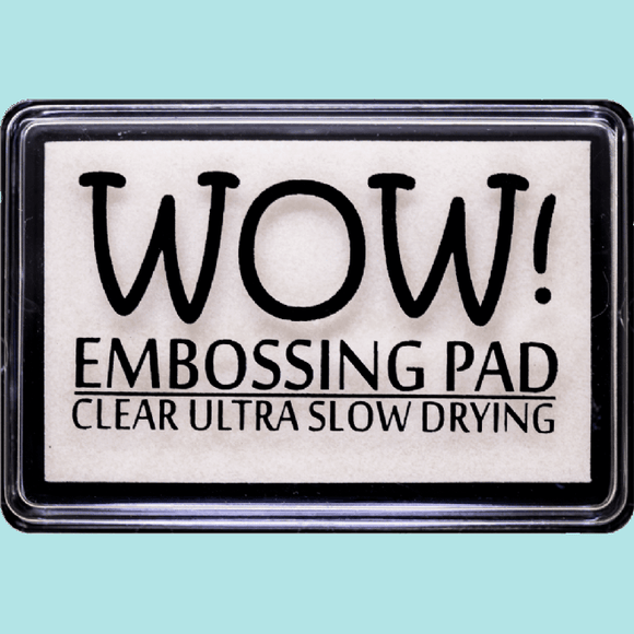 Wow Clear Ultra Slow Drying Ink Pad