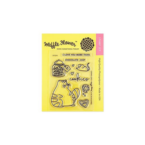 Waffle Flower - Cookie Love Stamp