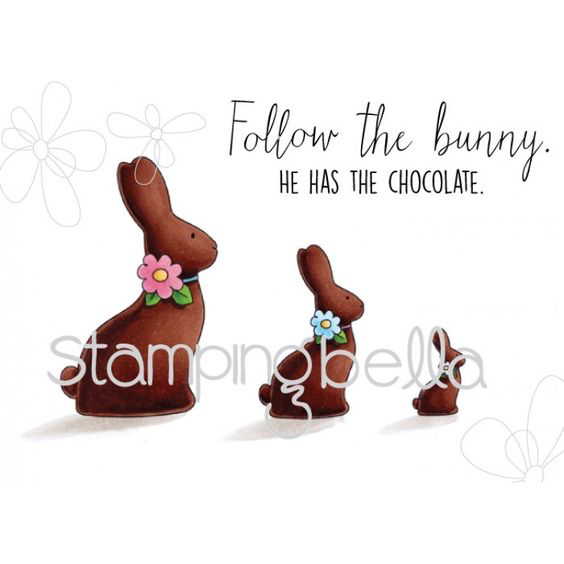 Stamping Bella - Chocolate Bunnies