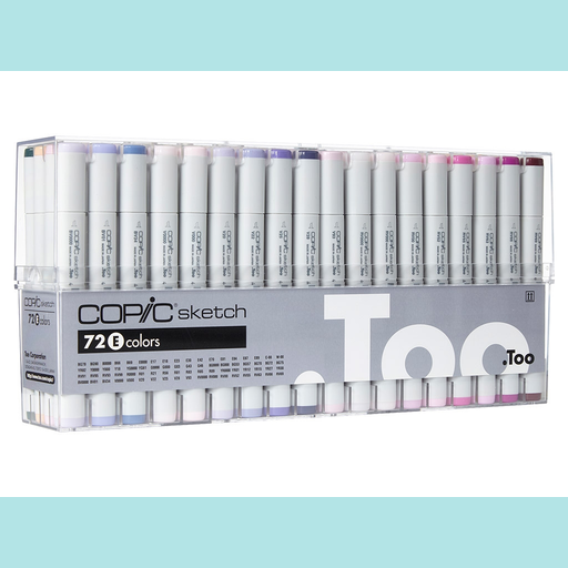 Copic Sketch Set 72E