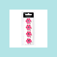 American Craft - Pebbles - Rhinestone Flowers