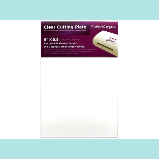 Dark Red Crafter's Companion Gemini Junior Accessories - Clear Cutting Plate