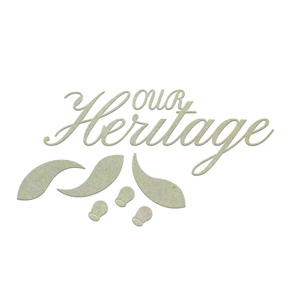 Ultimate Craft Chipboard - Our Heritage (7pc)