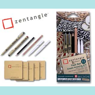 SAKURA ZENTANGLE TOOL SET C