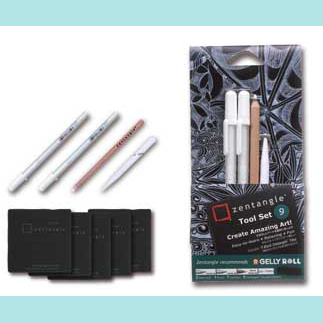 SAKURA ZENTANGLE TOOL SET B