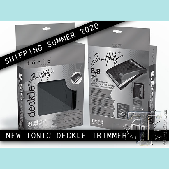 Tonic Studio Tim Holtz Deckle Cutter.