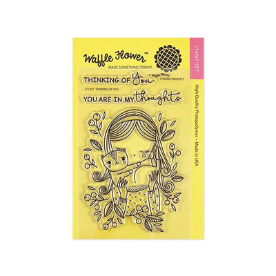 Waffle Flower - Thinking of You Stamp Sets