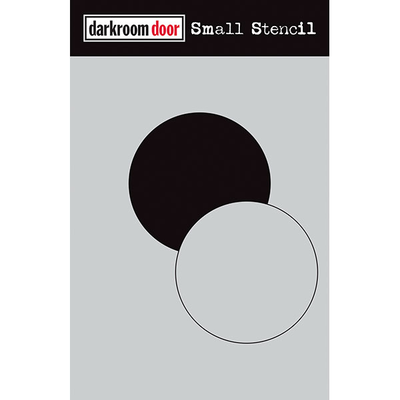 Darkroom door Small Stencil - Circle Set (NEW)