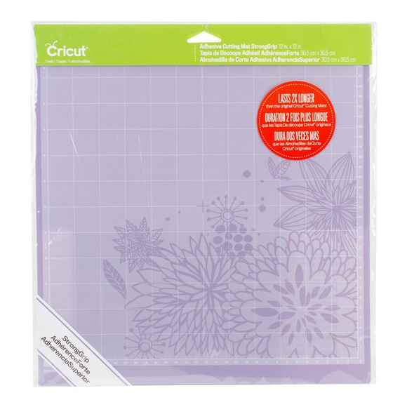 Cricut Cutting Mat - Strong Grip Machine Mat, 12