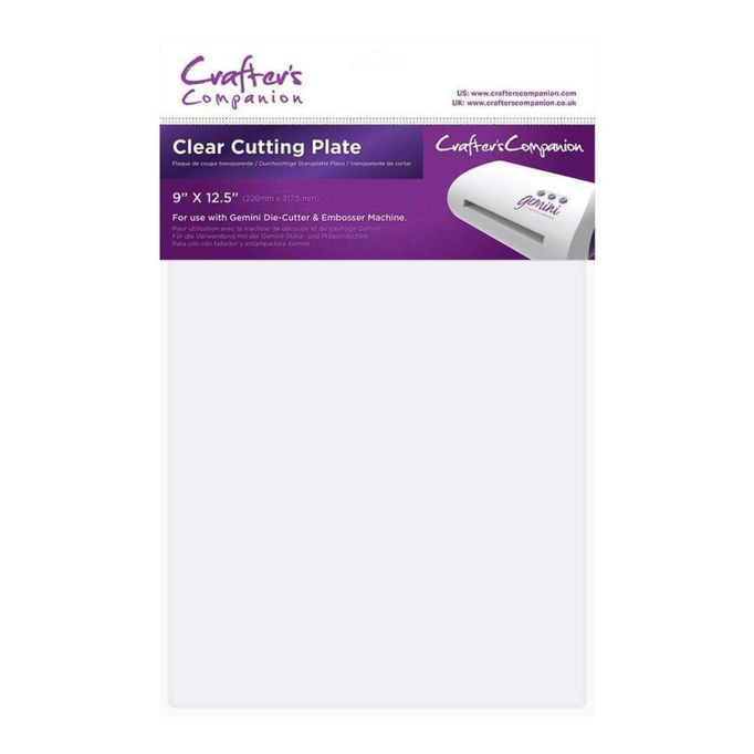 Crafter's Companion Gemini Accessories - Clear Cutting Plate