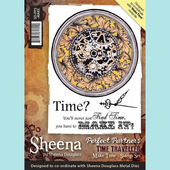 Sheena Douglass Perfect Partners Time Traveller Make Time Stamp