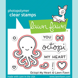 Lawn Fawn - Octopi My Heart - Stamp and Die Sets
