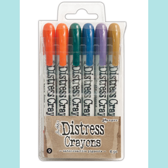 /& #5 You get all 3 Sets!!! #3 Ranger Tim Holtz Distress Crayons #1