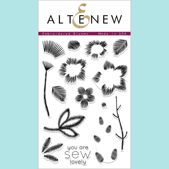 Altenew Embroidered Blooms Stamp