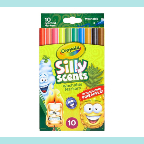 Crayola Crayons Silly Scents - 10 colours