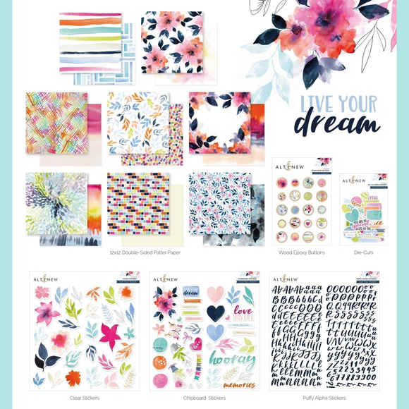 Altenew - Live Your Dream Scrapbook Collection