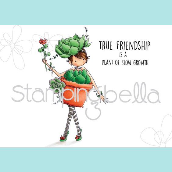 Stamping Bella - Tiny Townie Susie the Succulent