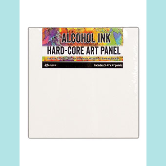 Tim Holtz® Alcohol Ink Hard-Core Art Panels 4