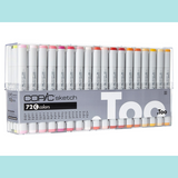 Copic Sketch Set 72C