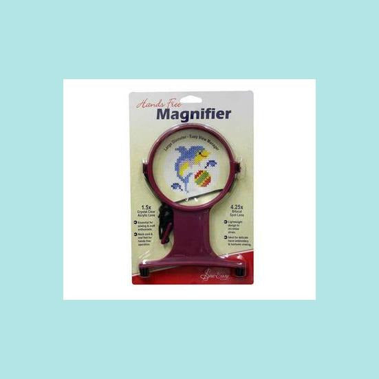 Gray Sew Easy Hands Free Magnifier with Cord