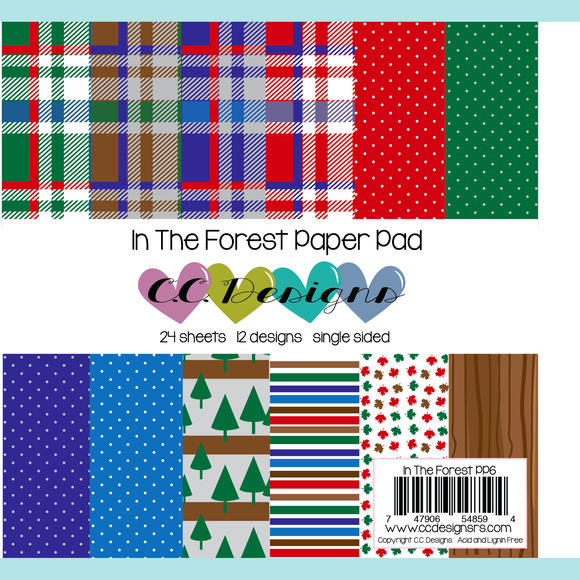 C.C. Designs - New In The Forest Paper Pad