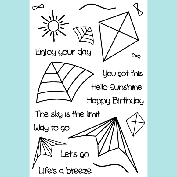 Joy Clair Life's A Breeze Stamp Set