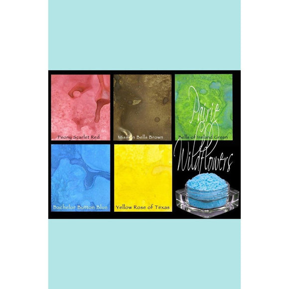 Lindy's Gang Prairie Wildflower Embossing Powder Range