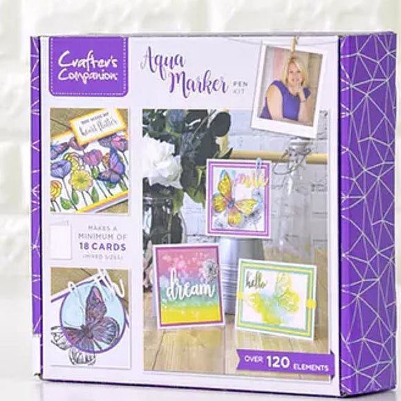 Crafter's Companion Craft Box Kit - Aqua Markers #6