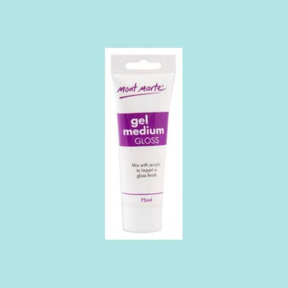 Mont Marte - Gel Medium Gloss 75ml