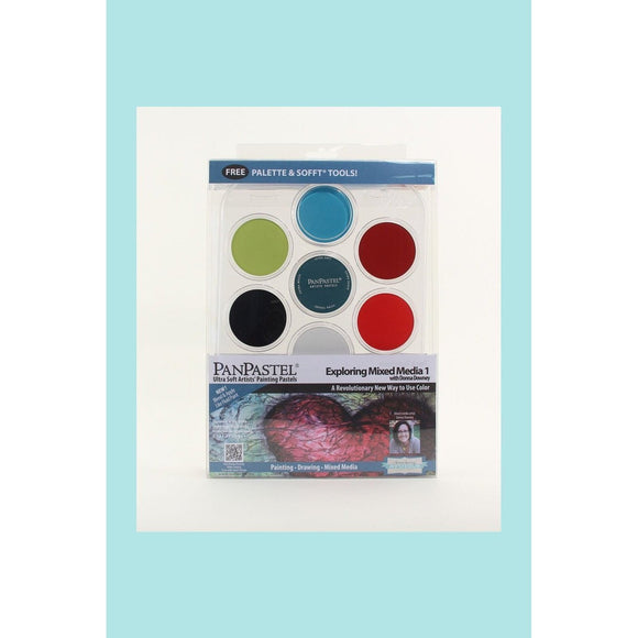 PanPastel Hanging Kits - Exploring Mixed Media 1