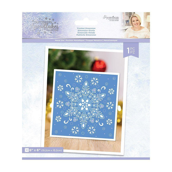Crafter's Companion - Sara Signature - Glittering Snowflakes Die - Frosted Dimension