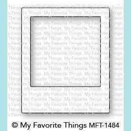 My Favorite Things MFT - Polaroid Shaker Frame Die-namics