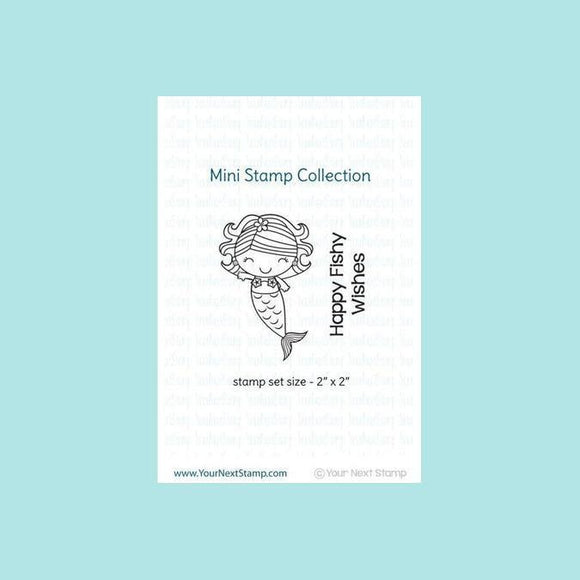 Your Next Stamp Mini Happy Days Mermaid Stamp & Die