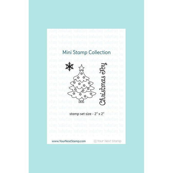 Your Next Stamp Mini Christmas Tree Stamp & Die