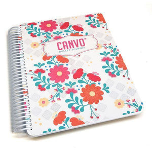 Catherine Pooler - Whimsical Blooms Canvo Journal