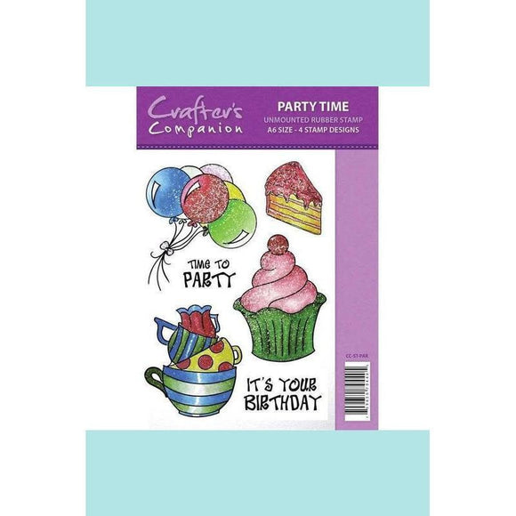Crafter's Companion Spectrum Sparkle Stamp - Party Time