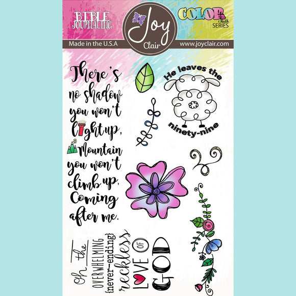 Joy Clair - Reckless Love - Bible Journaling Clear Stamp