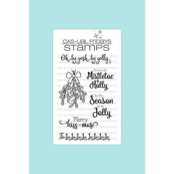 CAS-ual Fridays Stamps - Mistletoe & Holly Stamp Set