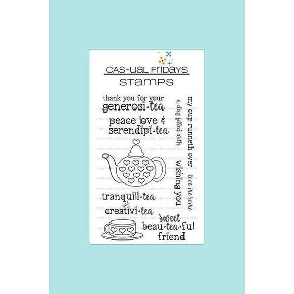 CAS-ual Fridays Stamps - Serendipi-tea Stamp