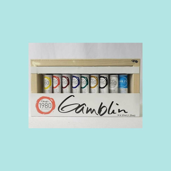 Gamblin - 1980 Oil Colors Introductory Set