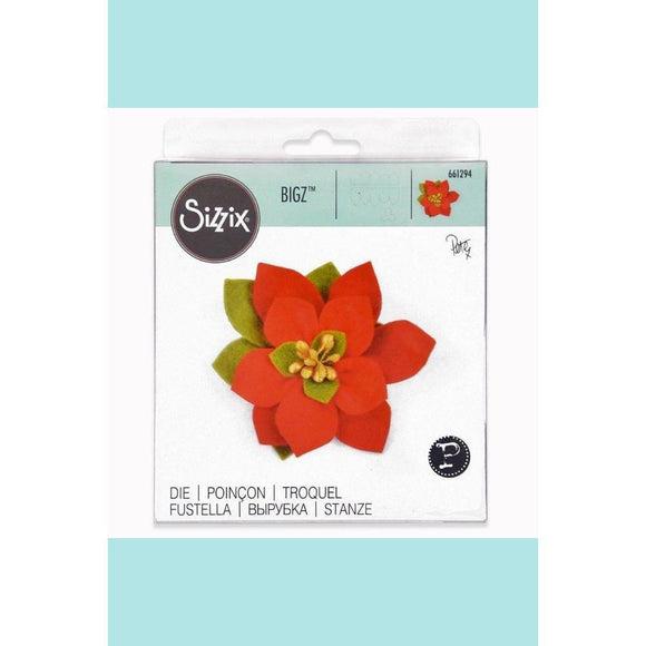 Sizzix Bigz Die - Build a Bloom, Poinsettia