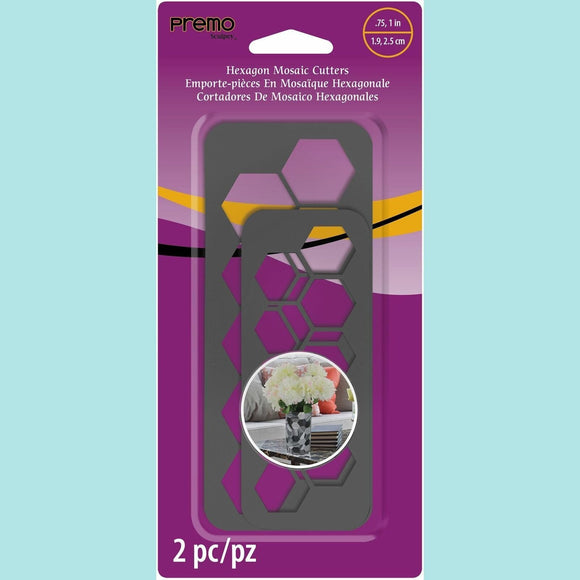 Premo Sculpey® Hexagon Mosaic Cutters
