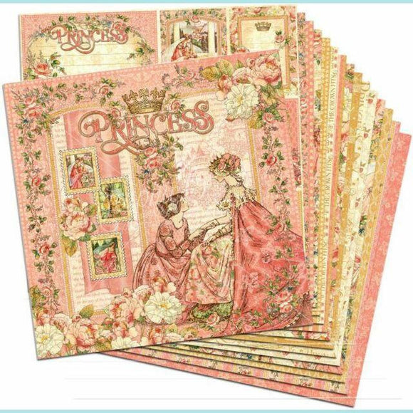 Graphic 45 - Princess Collection with a taste of Garden Goddess Bundle