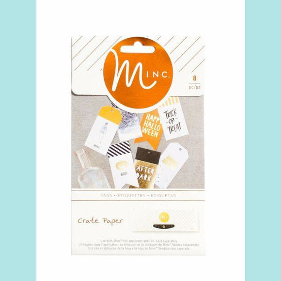 American Craft - Heidi Swapp - After Dark Minc Label Stickers