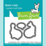 Lawn Fawn -  Sealed with a Kiss -  Die Sets