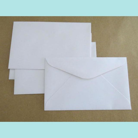 House of Paper - Budget White - Envelope C6